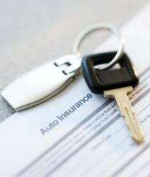 car insurance documents and keys